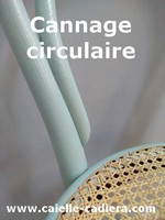 Cannage circulaire