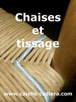 Chaises et tissage