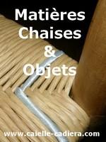 Matières pour chaises et objets