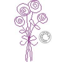 Grille gratuite - Bouquet