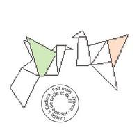 Oiseaux origami