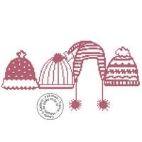 Grille gratuite - Bonnets d`hiver