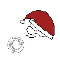 Grille gratuite - Père Noël
