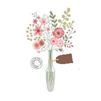 Grille gratuite - Bouquet romantique